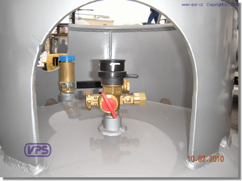 Gaseous phase valve 3/4''/POL