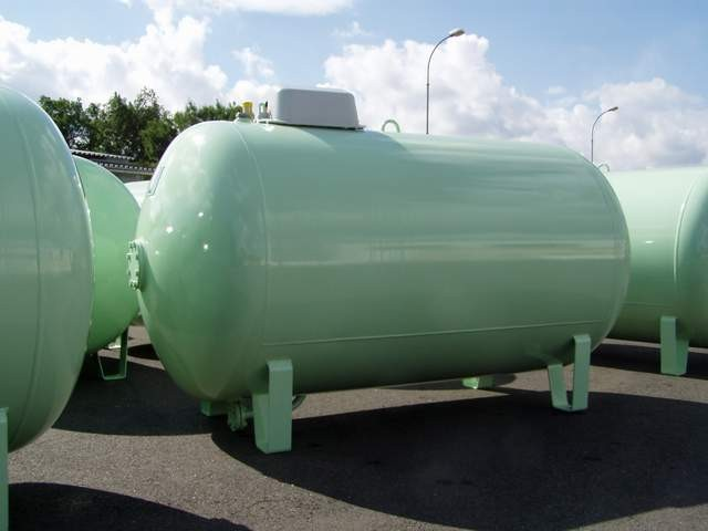 LPG storage tanks up to 10m3